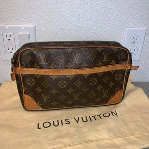 Authentic louis vuitton clutch cosmetics case bag